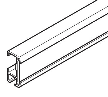 Klittenband Triple-volantrail  tot 95 cm vanaf € 2,75