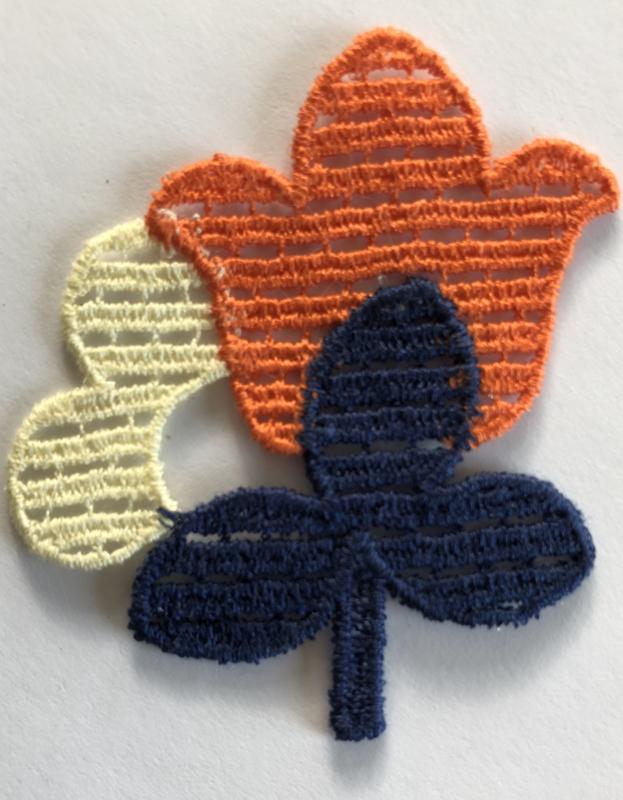 Applicatie bloem