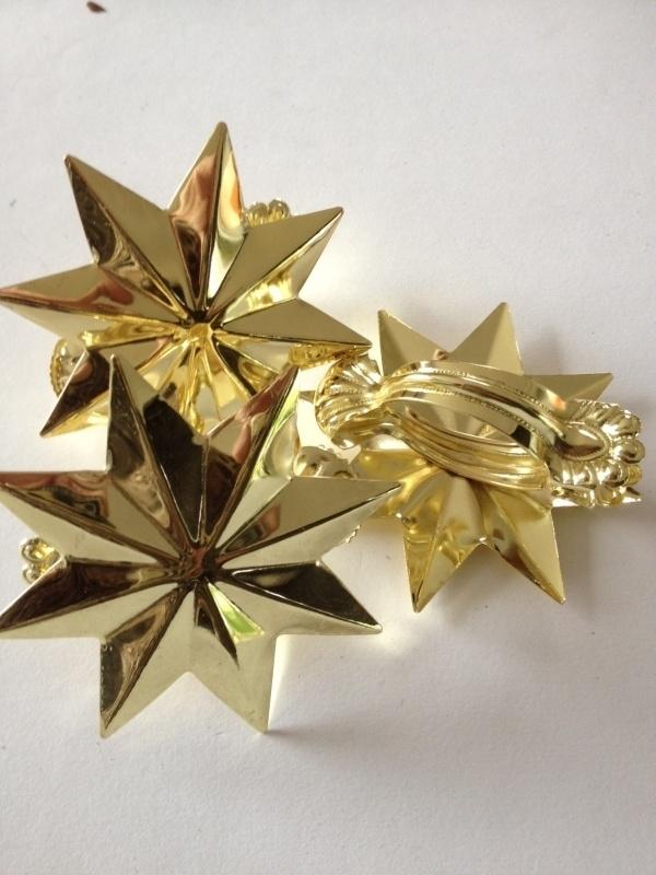 Decoclip ster-goud