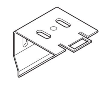 Wand /plafond klem steun