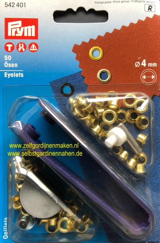 Ceintuurringen 4 mm gun metal