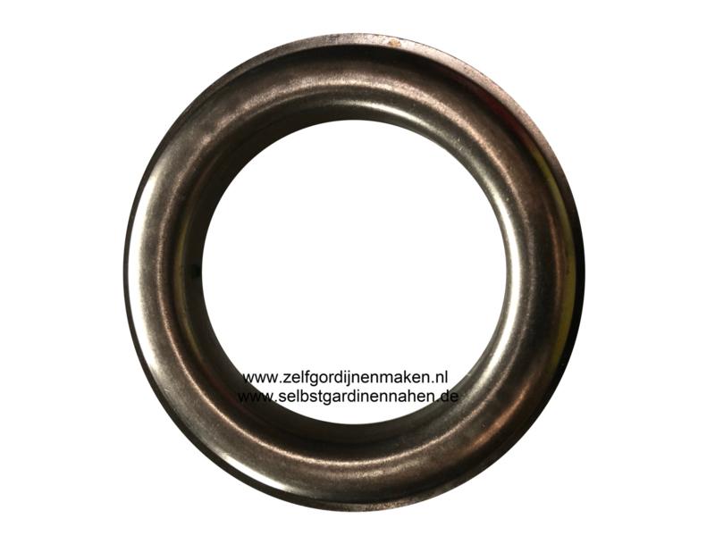 Zeilring rond 65 mm Antiek Nickel