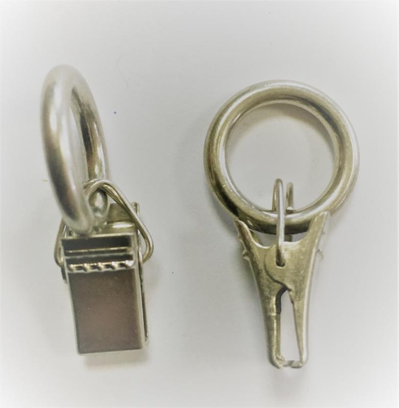 knijpertje aan ring