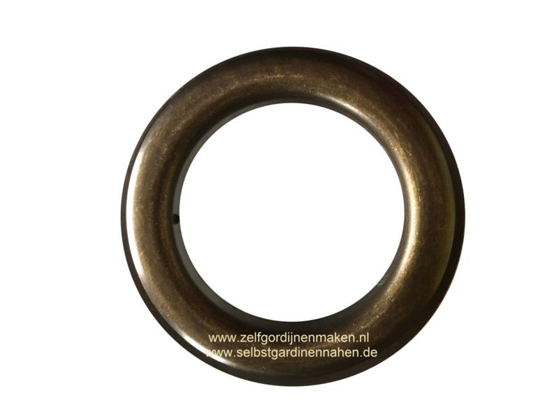 Zeilring rond 65 mm Oud Goud