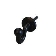 Embrassehaak 30mm  zwart