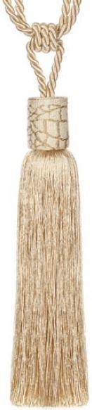 Embrasse kwast 70 cm beige