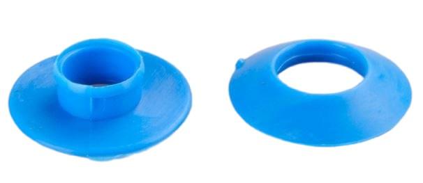Zeiloog blauw plastic