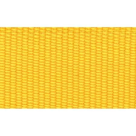 Ripsband 26 mm Geel