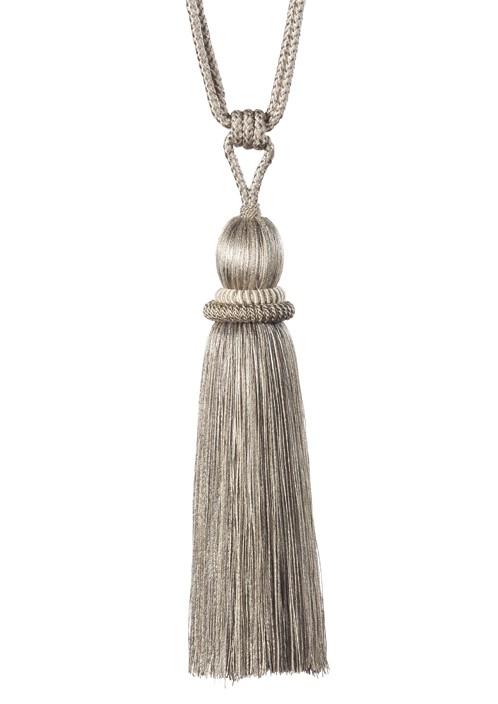 Embrasse koord met kwast 80 cm licht Zand