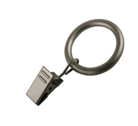 Ring 32 mm met Knijper Satin