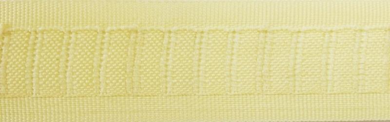 Duplo-plooiband Zacht geel