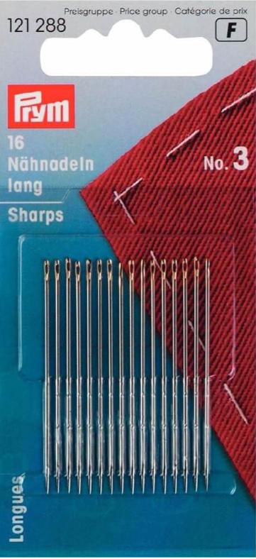 Prym naainaalden lang staal 0,90 x 44 mm