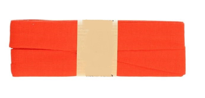 Def-co Biaisband oranje 20mm - 5 meter - 015