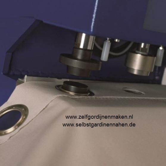 Zeilringen 25mm inclusief inslaan