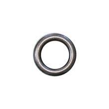 Zeilring rond 40 mm Oud Zilver