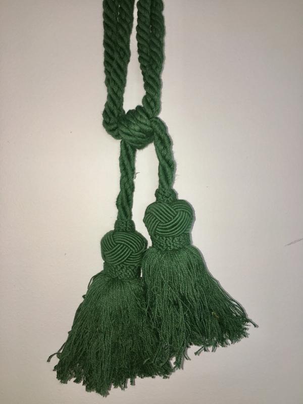 Embrasse Kwast groen met 2 bollen