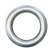 Zeilring rond 25 mm RVS