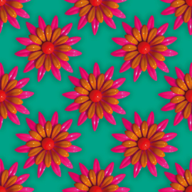 Bloom cross jurk Lalamour