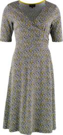 Sprinkle cross jurk van Zilch