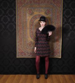 Square Rose jurk Lalamour