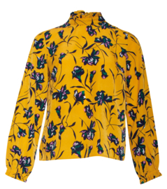 Ella blouse Smashed Lemon (18703)