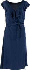Navy cross jurk van Zilch