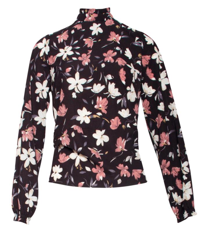 Jasmine blouse Smashed Lemon (18679)