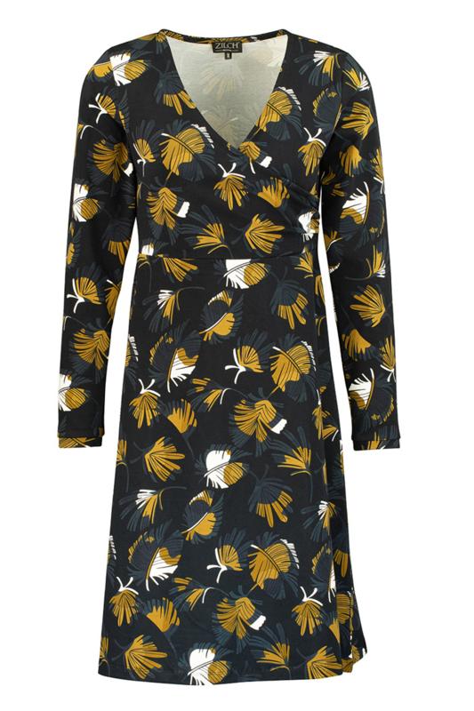 Feather cross jurk van Zilch