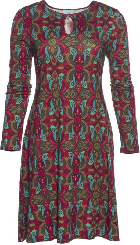Orient Keyhole jurk Lalamour