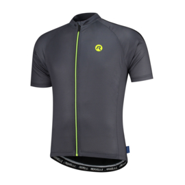 Rogelli Explore fietsshirt korte mouwen - grijs/zwart/fluor