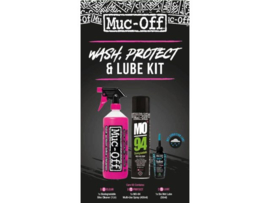 Muc-Off Wash, Protect & Lube Kit (Wet Lube)
