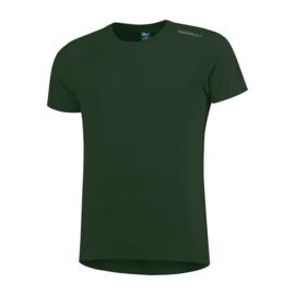 Rogelli Promo hardloopshirt heren korte mouw - legergroen