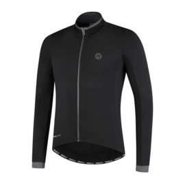 Rogelli Essential heren fietsshirt lange mouwen - zwart