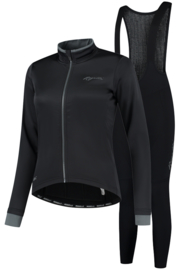 Rogelli Essential dames winter fietskledingset - zwart