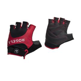 Rogelli Arios zomer fietshandschoenen - rood/zwart