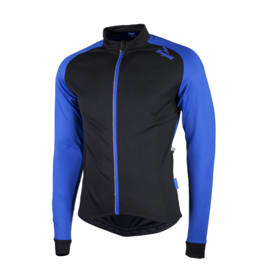 Rogelli Caluso 2.0 fietsshirt lange mouwen - zwart/blauw