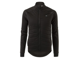 AGU Deep Winter Heated Led dames winter fietsjack - zwart