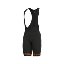 Alé PRR Strada bibshort - zwart/oranje
