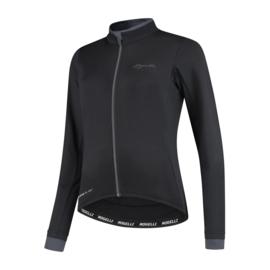 Rogelli Essential dames fietsshirt lange mouwen - zwart