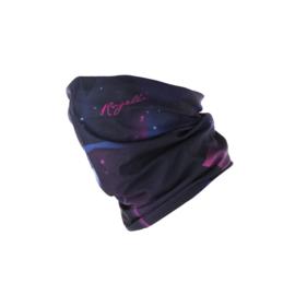 Rogelli scarf nekwarmer - zwart/roze/blauw