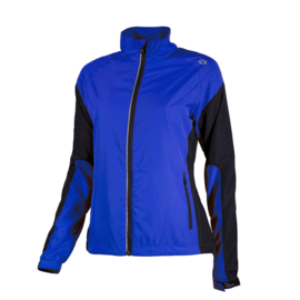 Rogelli Elvi hardloopjack dames - blauw/zwart