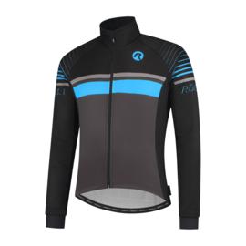 Rogelli Hero heren winter fietsjack - zwart/blauw