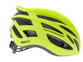 AGU Tesero fietshelm race - fluorgeel