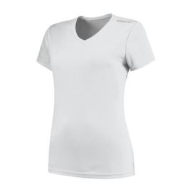 Rogelli Promo dames hardloopshirt korte mouwen - wit