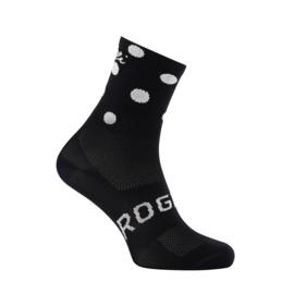Rogelli Sprinkle dames zomer fietssokken - zwart/wit