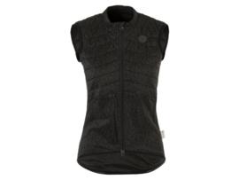 AGU Essential Hi-Vis dames padded fietsvest - zwart