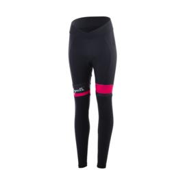 Rogelli Select lange dames fietsbroek - zwart/roze
