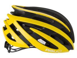 AGU Thorax fietshelm race - geel/zwart
