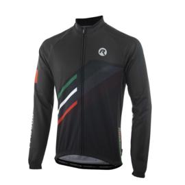 Rogelli Team 2.0 fietsshirt lange mouwen - zwart