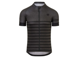 AGU Melange fietsshirt korte mouwen - grijs/zwart